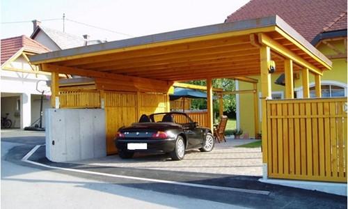 Carport platdak dubbel Norg