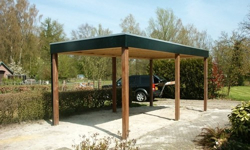 carport-platdak-modern-diever afbeelding