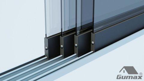 veranda-platdak---glazen-schuifpanelen-oosterland afbeelding
