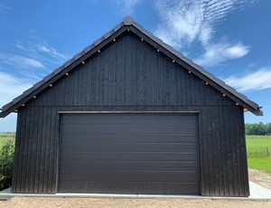 garage-platdak---sectionaaldeur-landsmeer afbeelding