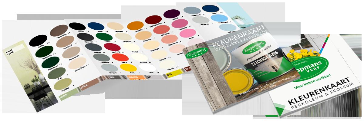 Kleurenkaart Koopmans