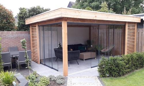veranda-platdak---glazen-schuifpanelen-nijmegen afbeelding