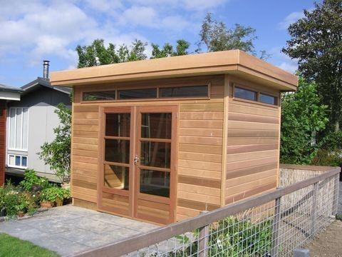 tuinhuis-platdak-red-cedar-weert afbeelding