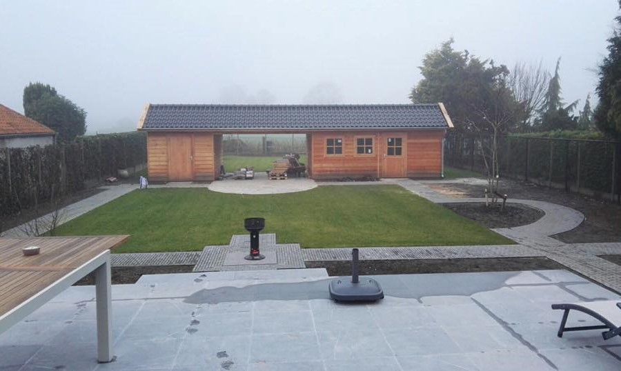 tuinhuis-zadeldak---berging-zeeland afbeelding