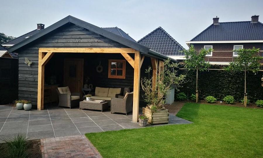 tuinhuis-zadeldak---overkapping-noord-holland afbeelding