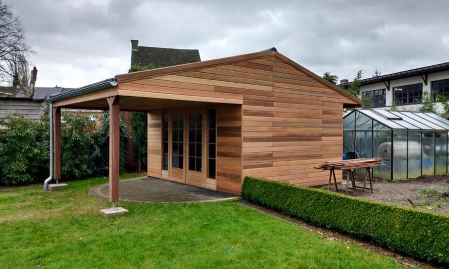 tuinhuis-zadeldak---overkapping-red-cedar-bronkhorst afbeelding