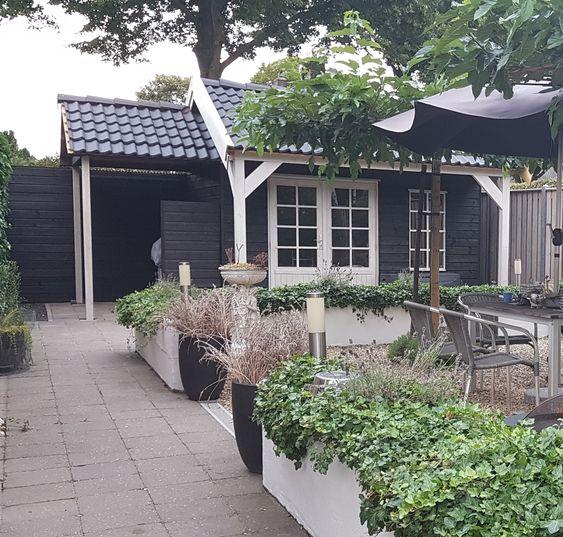 Tuinhuis zadeldak Wageningen