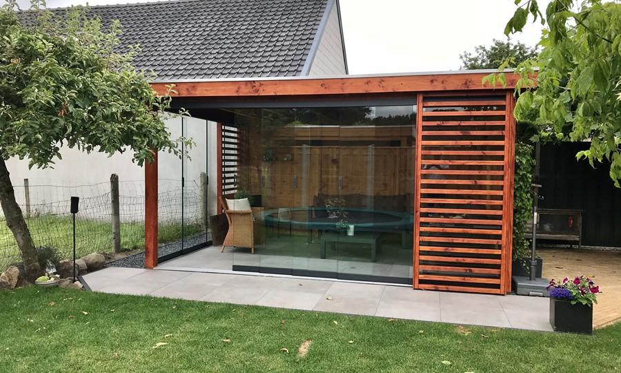 veranda-platdak---glazen-schuifpanelen-elburg afbeelding