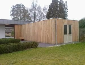 moderne-houten-berging-ewijk afbeelding