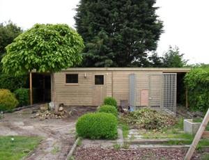 tuinhuis-plat-dak-amstelveen afbeelding