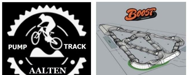 Afbeelding nieuwsitem - Sponsorride Pumptrackbaan Aalten