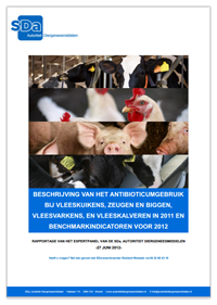 SDa-rapport 'antibioticumgebruik in 2011 + benchmarkindicatoren'