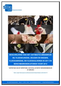 SDa-rapport 'antibioticumgebruik in 2011 + benchmarkindicatoren'