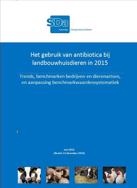SDa-rapport 'antibioticumgebruik in 2015'