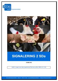 Tweede signalering, SDa