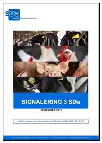 Derde signalering SDa