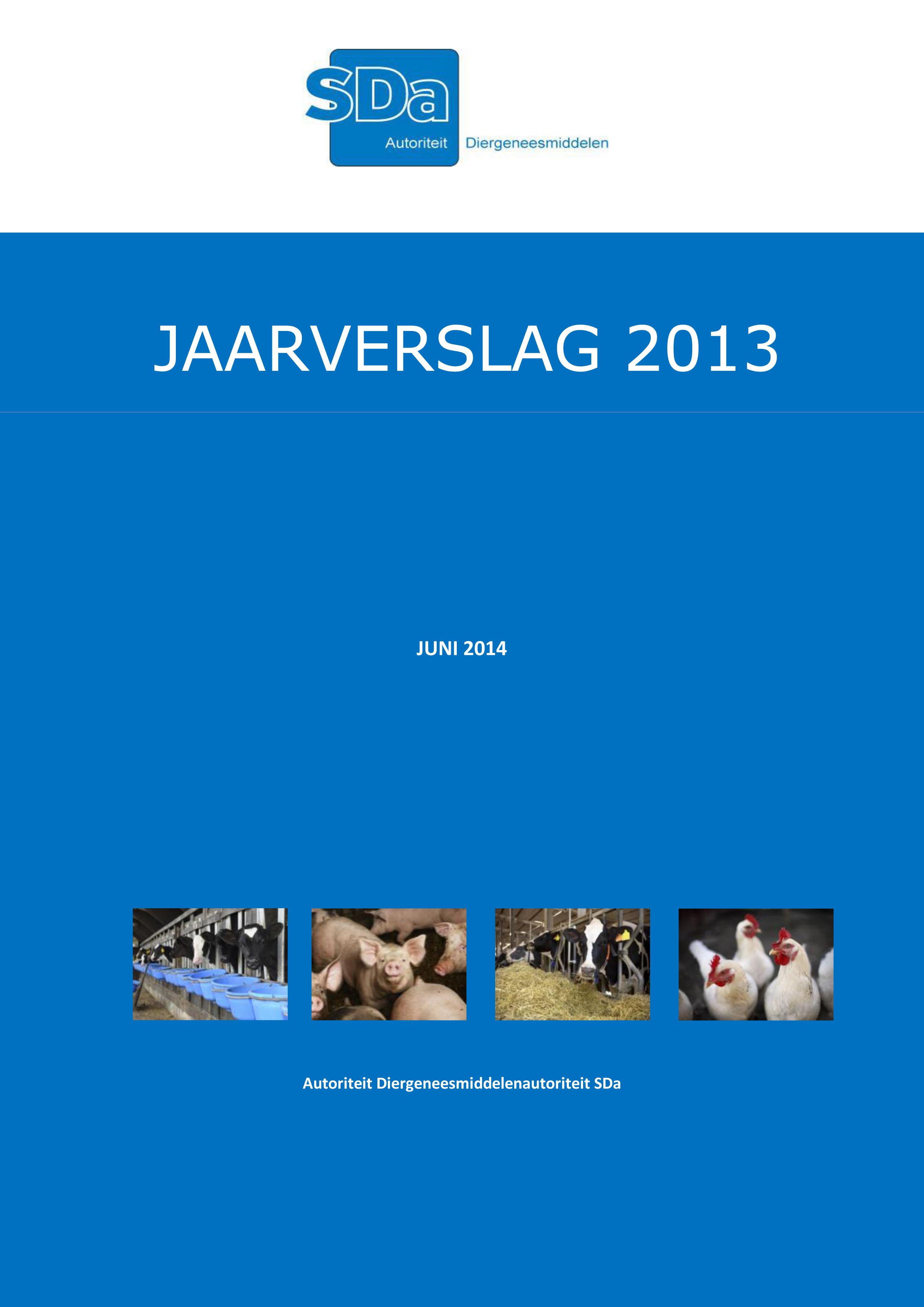SDa-Jaarverslag 2013