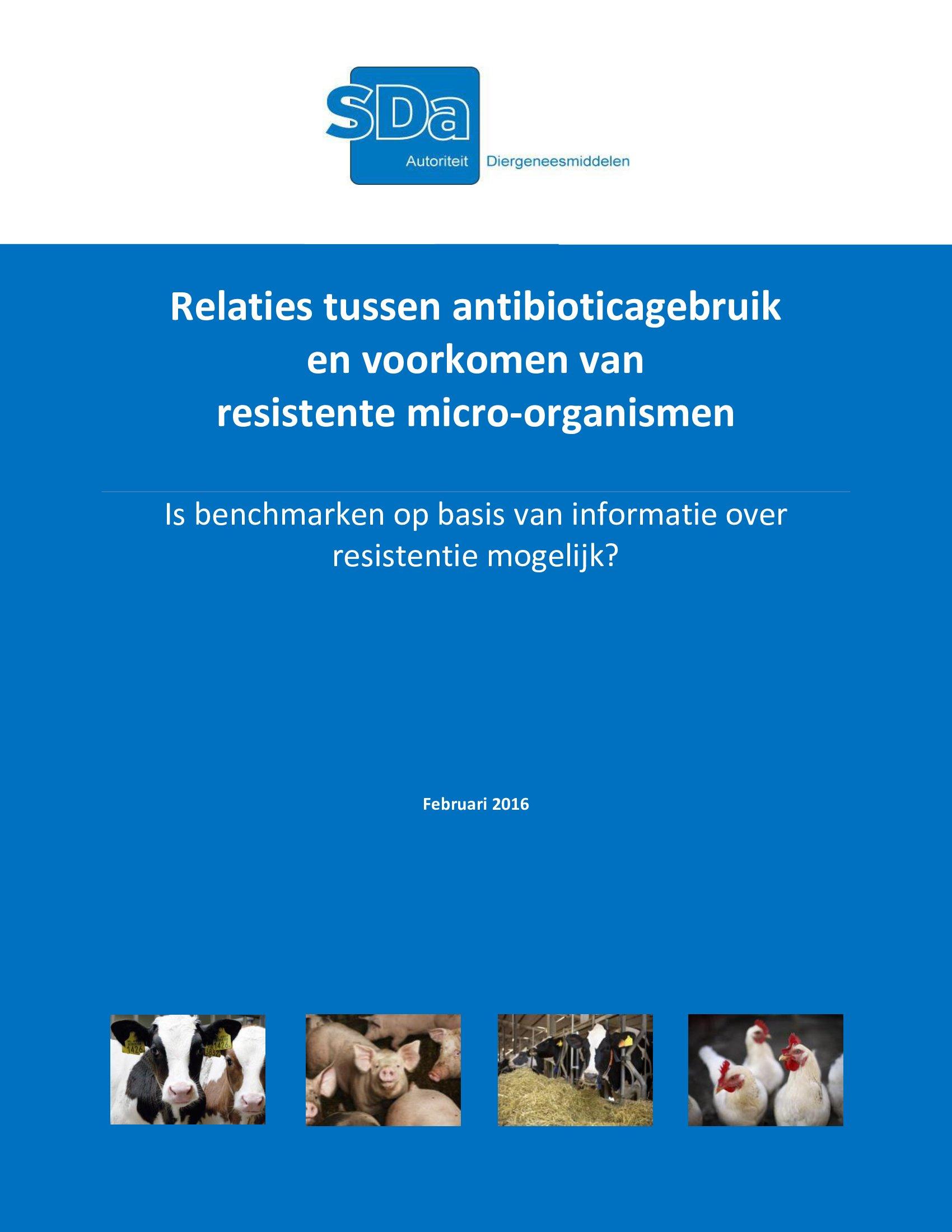 SDa-rapport 'Relaties antibioticumgebruik en...