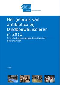 SDa-rapport 'antibioticumgebruik in 2013'