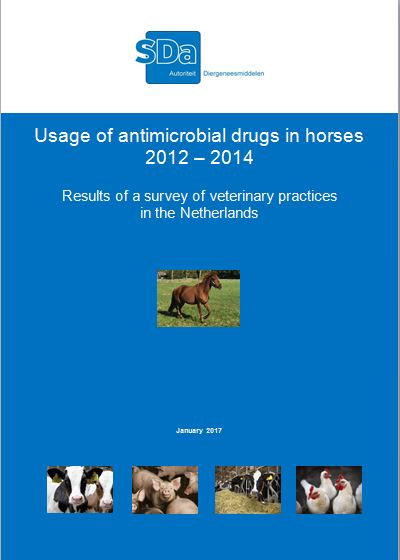 Report: Usage of antimicrobial drugs in horses 2012 - 2014. Results of a survey of veterinary practices in the Netherlands. January 2017