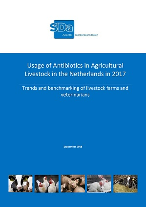 SDa-report 'Usage of antibiotics in agricultural livestock in the Netherlands in 2017'