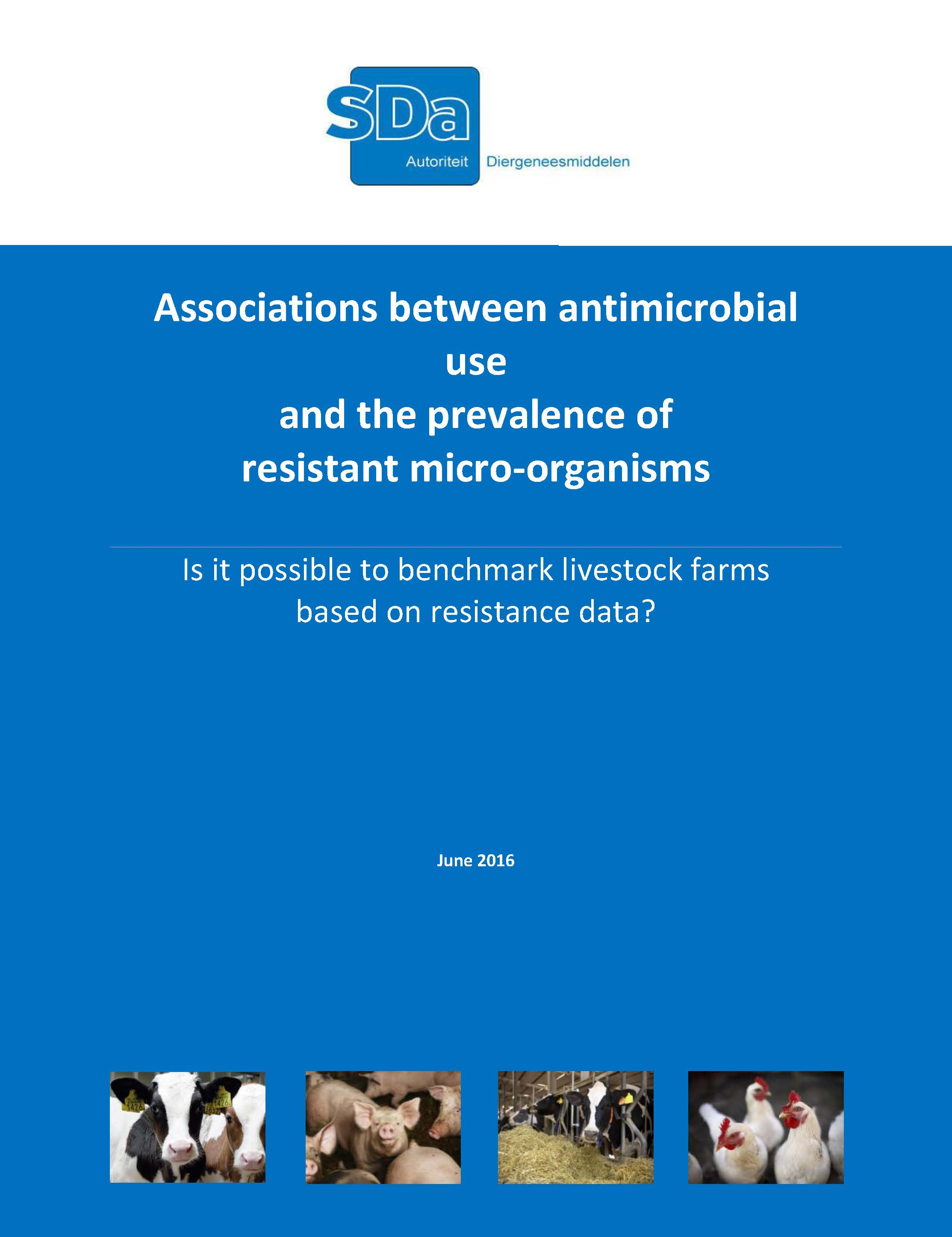 Association between antimicrobial use and the prevalence of resistant micro-organisms