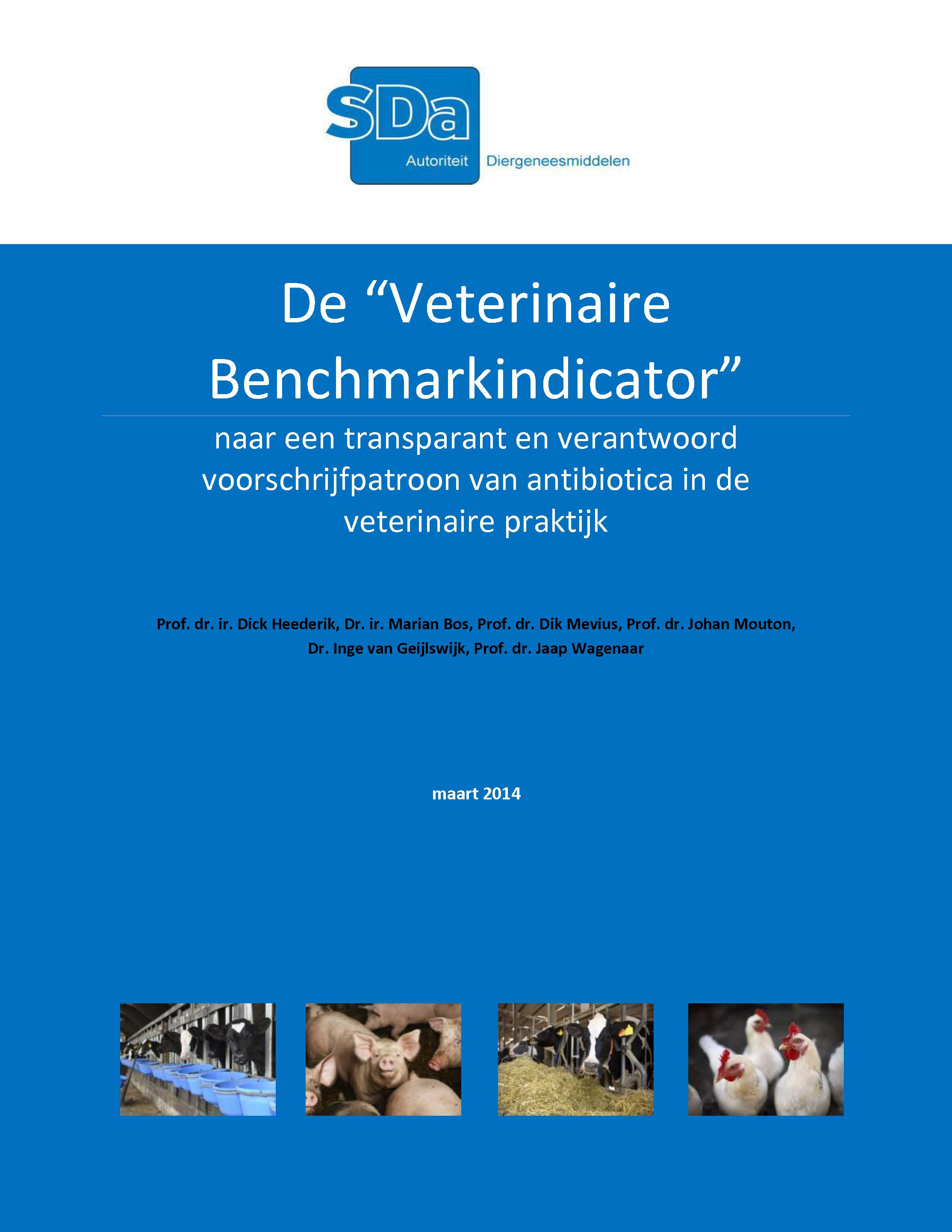 SDa-rapport: Veterinaire Benchmarkindicator