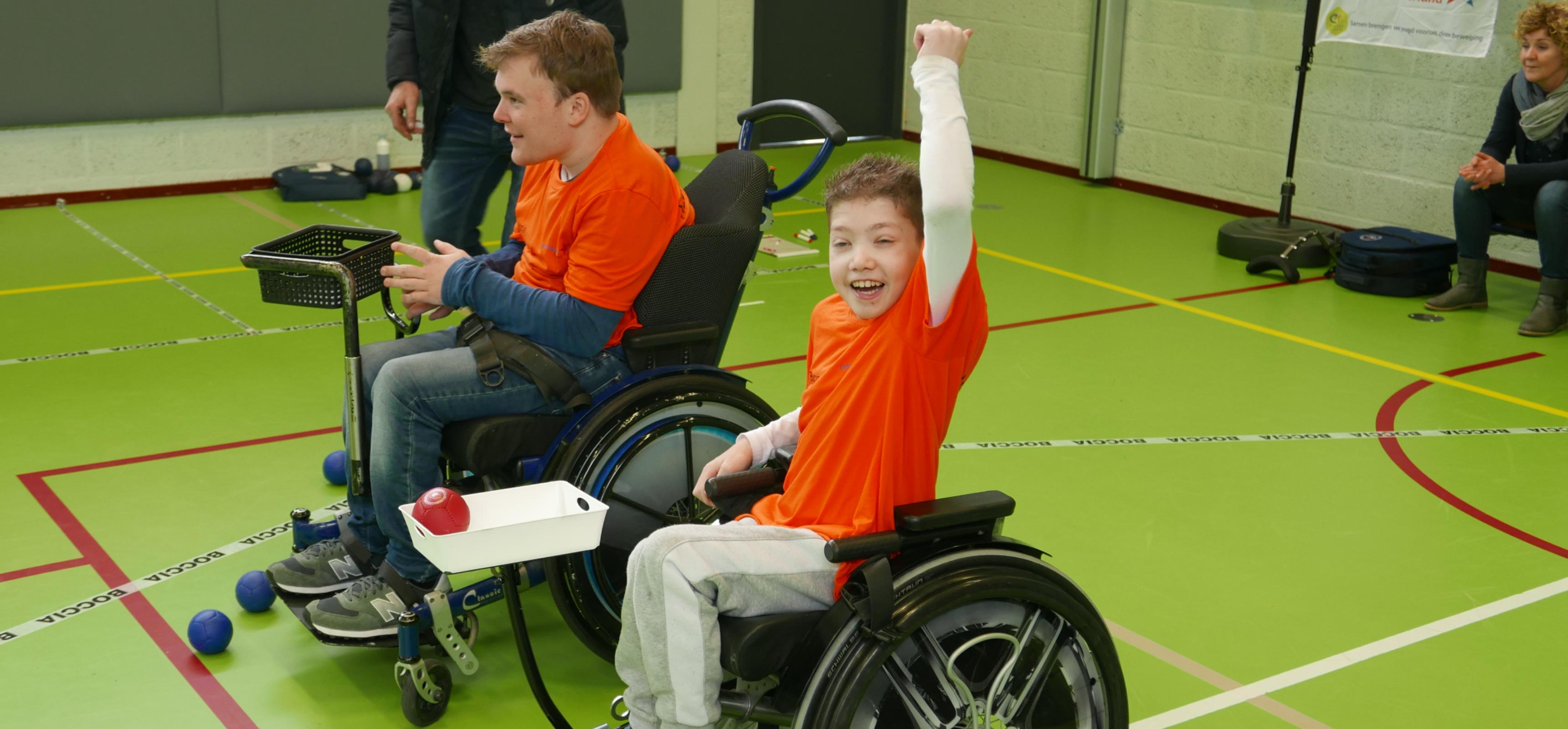 Sporten met Cerebrale Parese (CP)