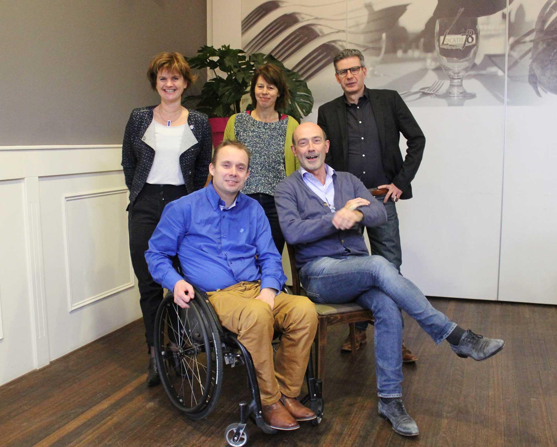 Gehandicaptensport Nederland Bestuur
