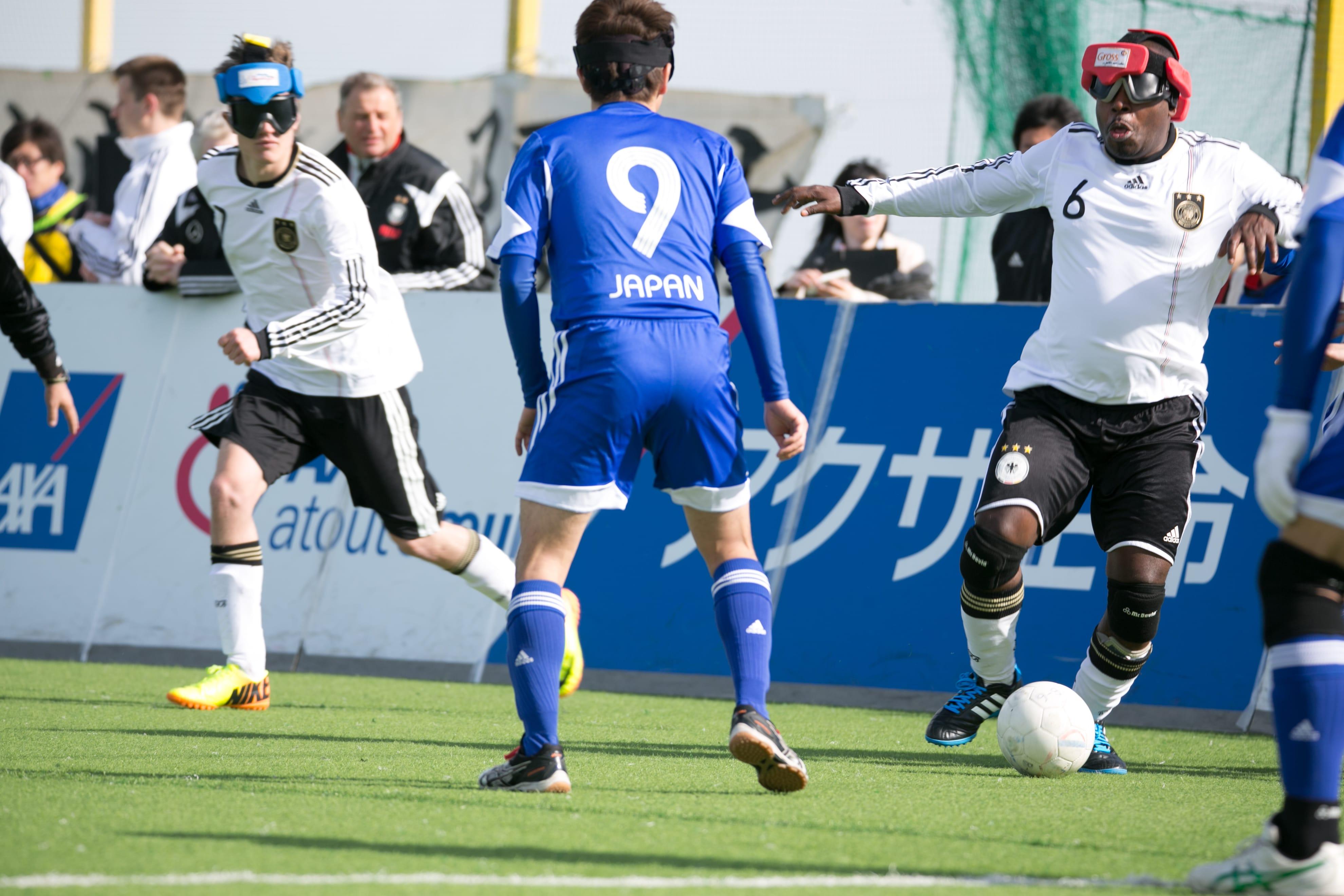Gehandicaptensport Nederland Blindenvoetbal