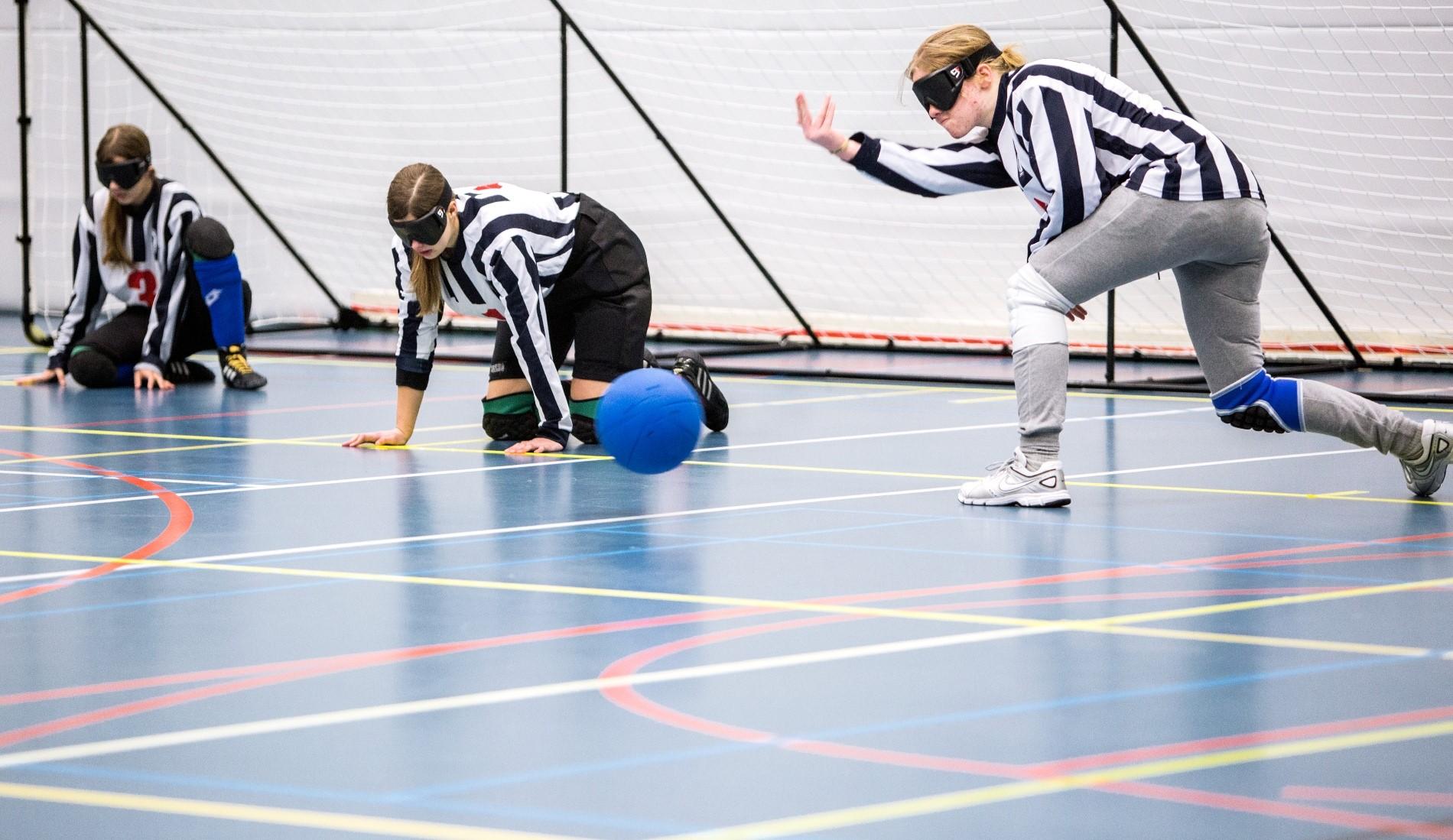 Goalball Cruyff Foundation Talentteam