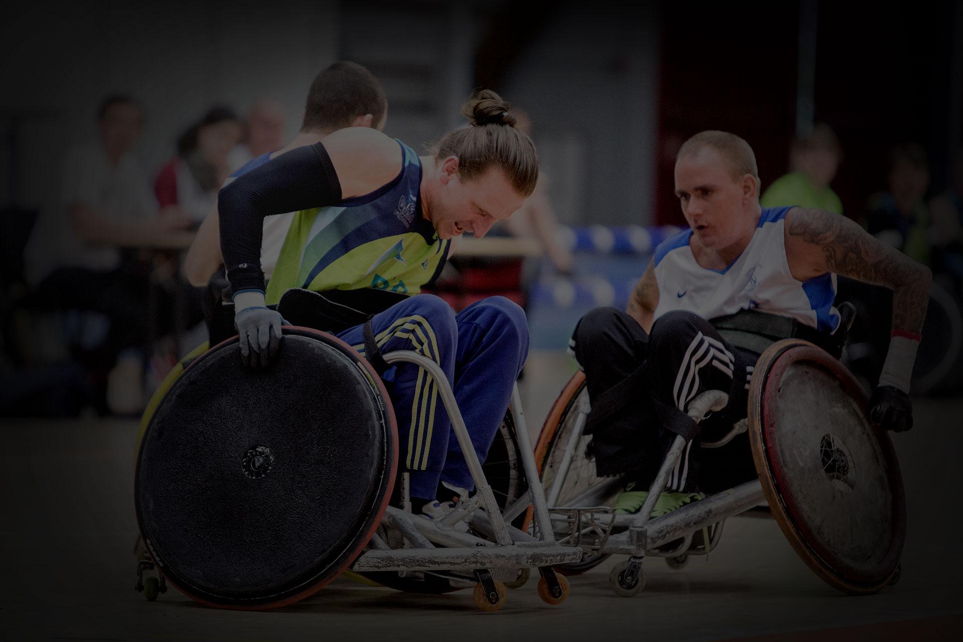 Sporten met een lichamelijke beperking