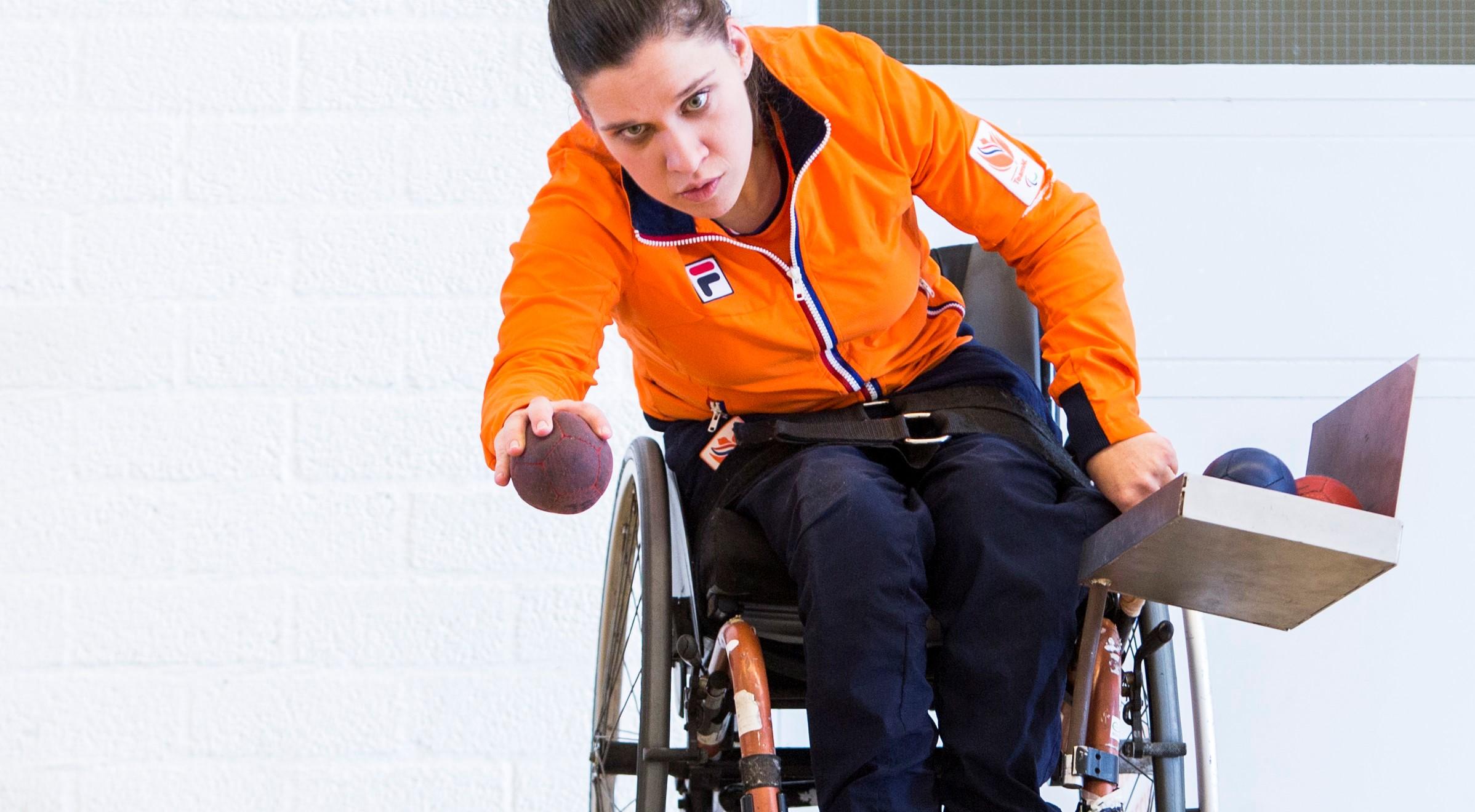Boccia Paralympic Team NL