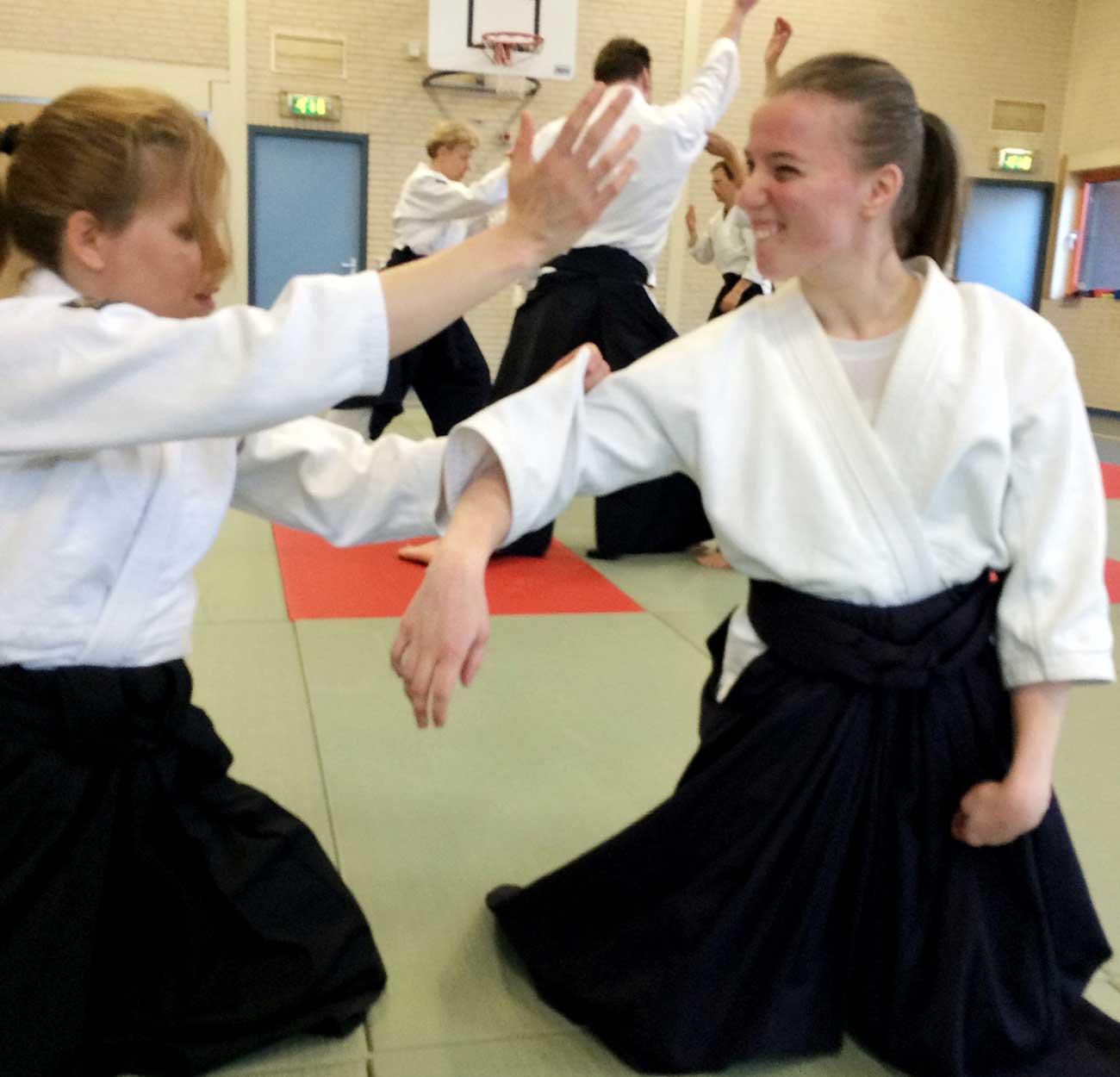 Aikido voor mensen met beperking