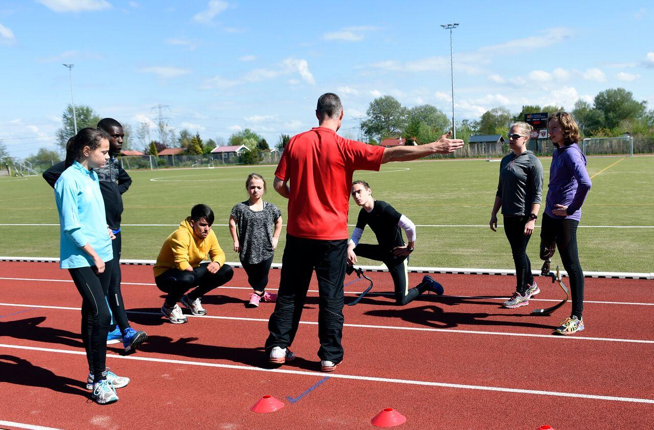 Atletiek voor mensen met beperking