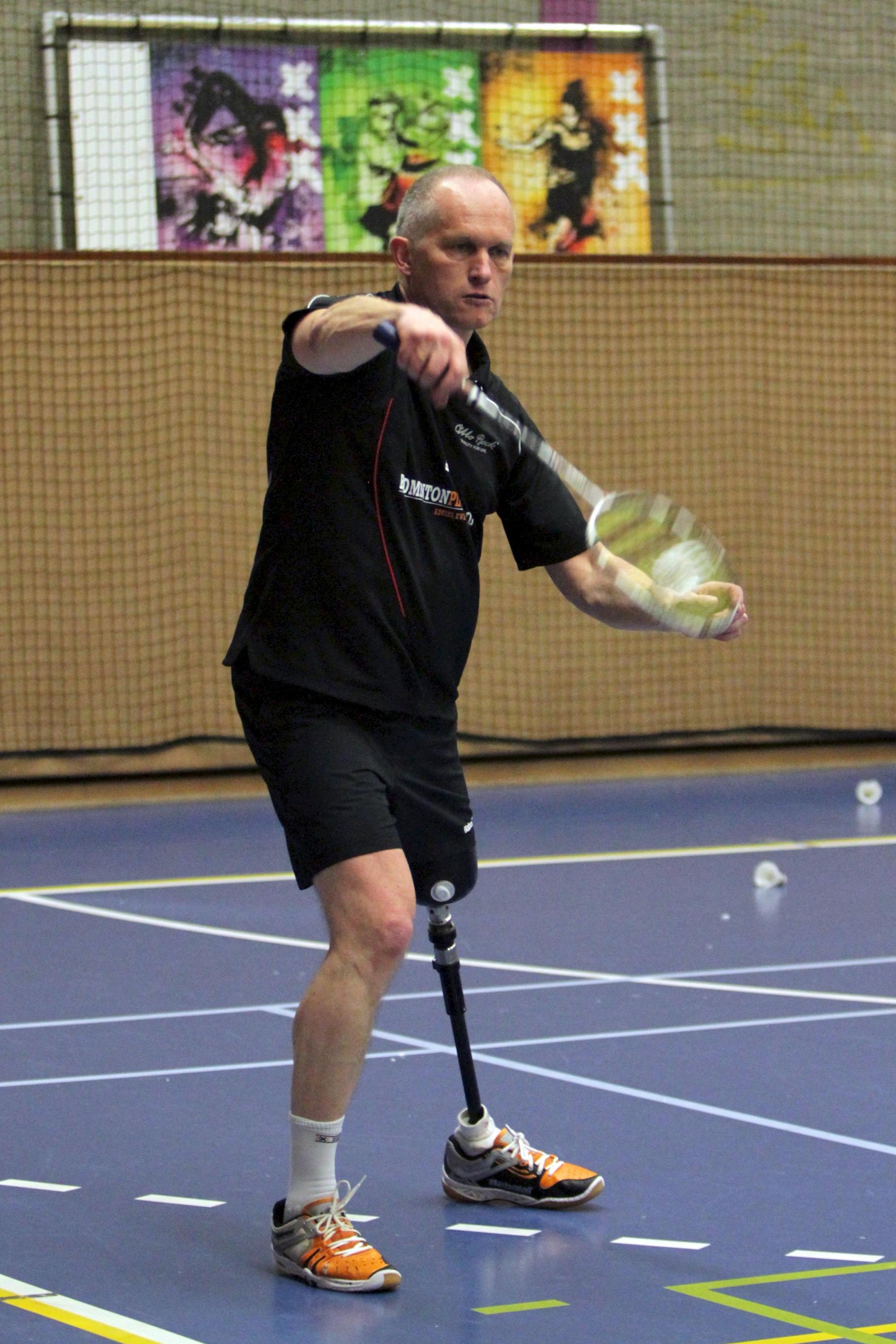 Badminton voor mensen met beperking