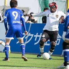 Blindenvoetbal bij Gehandicaptensport Nederland
