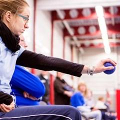 Boccia bij Gehandicaptensport Nederland