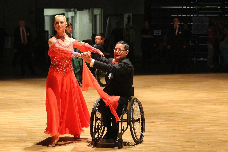 Dansen voor mensen met een beperking