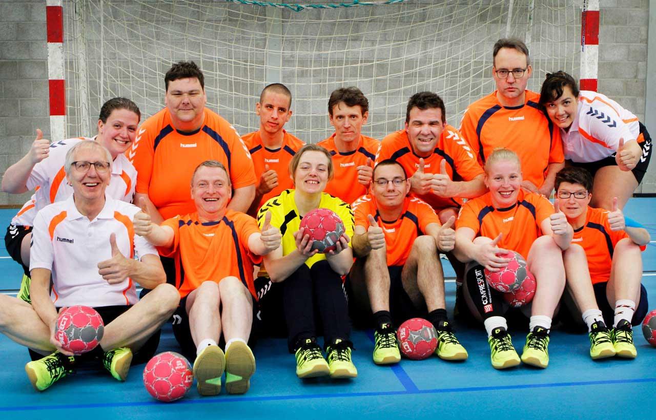 Handbal voor verstandelijk gehandicapten