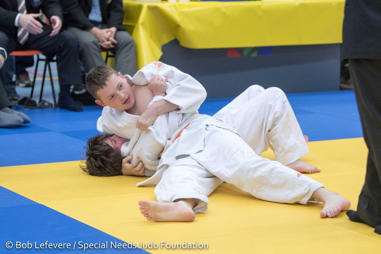 Judo voor mensen met een beperking