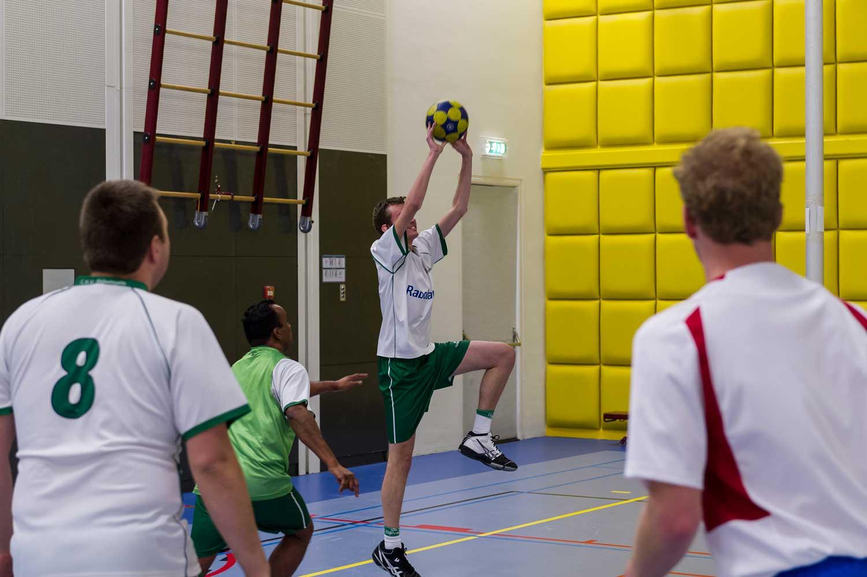 Korfbal voor mensen met een beperking