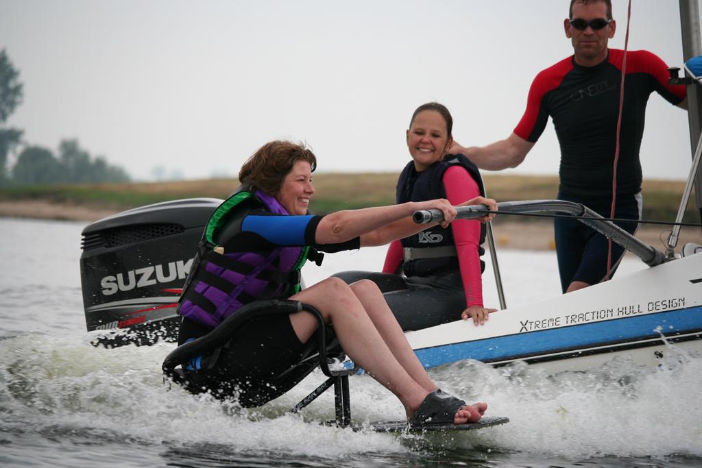 aangepast wakeboarden