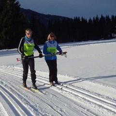 Langlaufen bij de Nederlandse Ski Vereniging