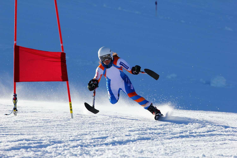 Aangepast skiën