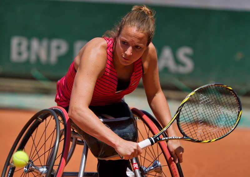 Tennis voor mensen met een beperking