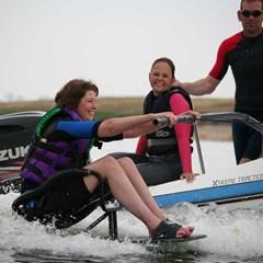Wakeboarden bij de Nederlandse Waterskie & Wakeboard bond