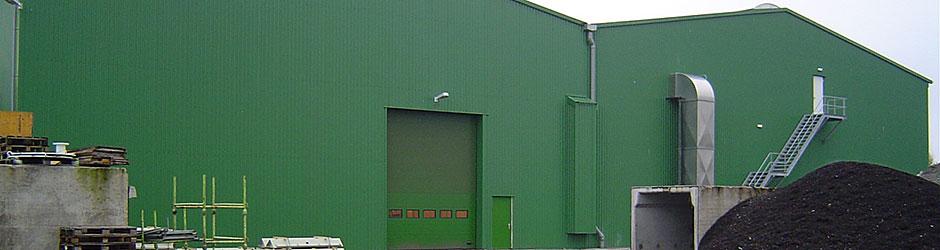 Nieuwbouw composteringsinrichting en GFT-vergister