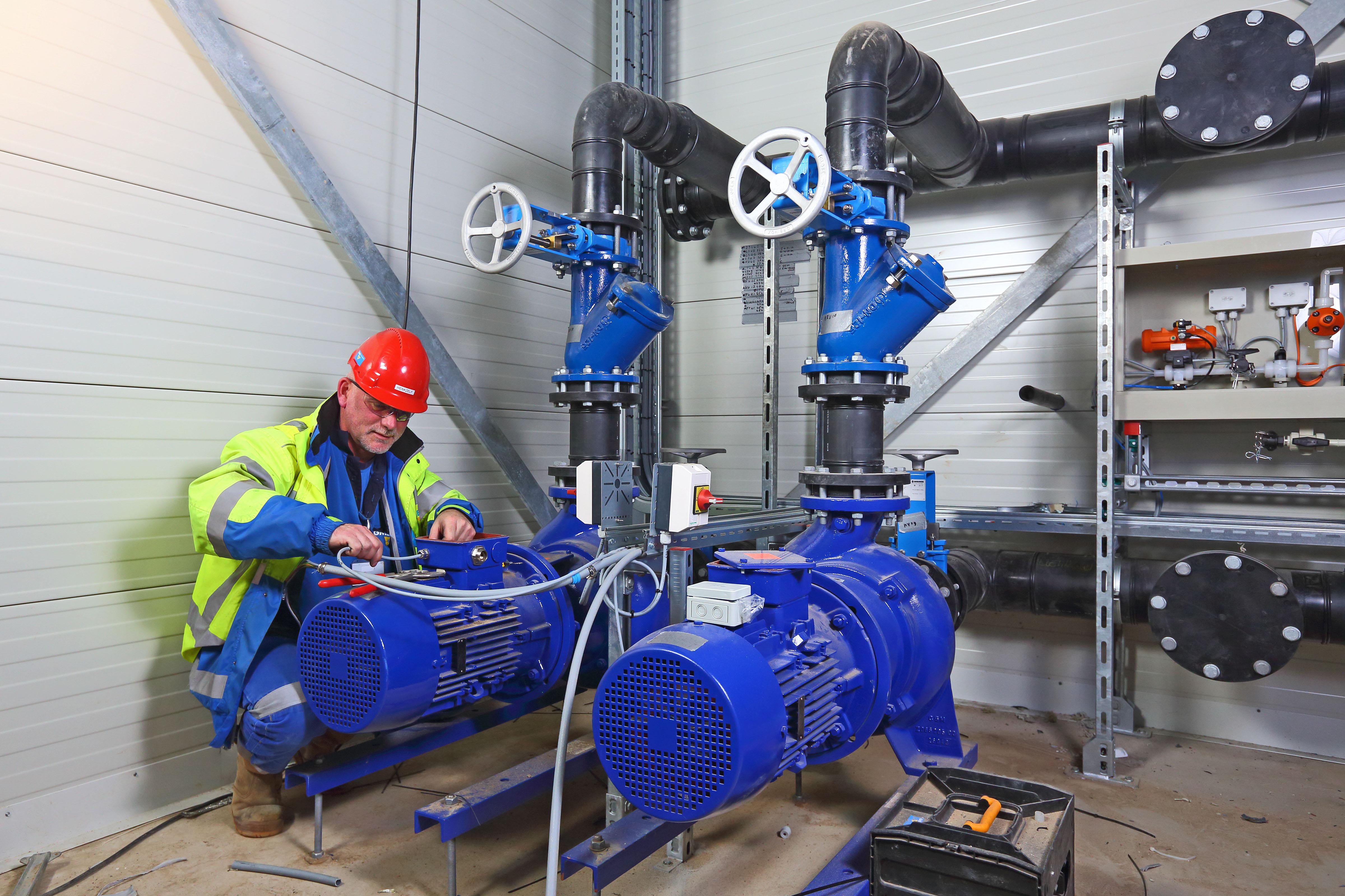 Bouw en onderhoud afvalwaterinstallatie Danone