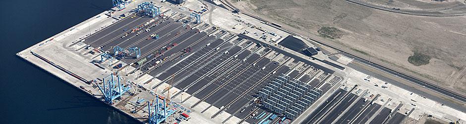Aanleg Terminal APM op Maasvlakte II